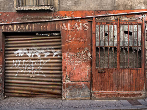 Photograph - Garage Du Palais by Gary Karlsen