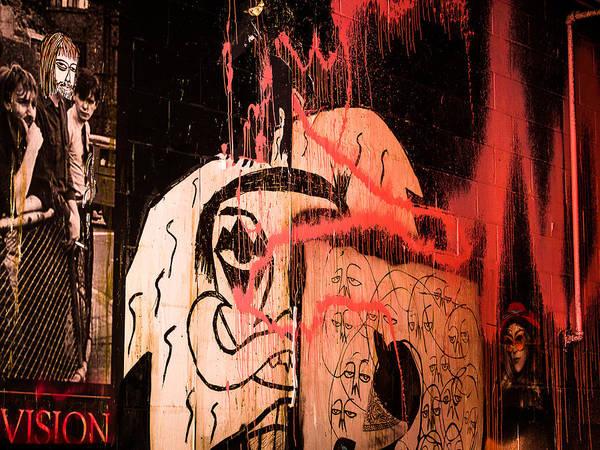 Photograph - Garage Graffiti by Robin Zygelman