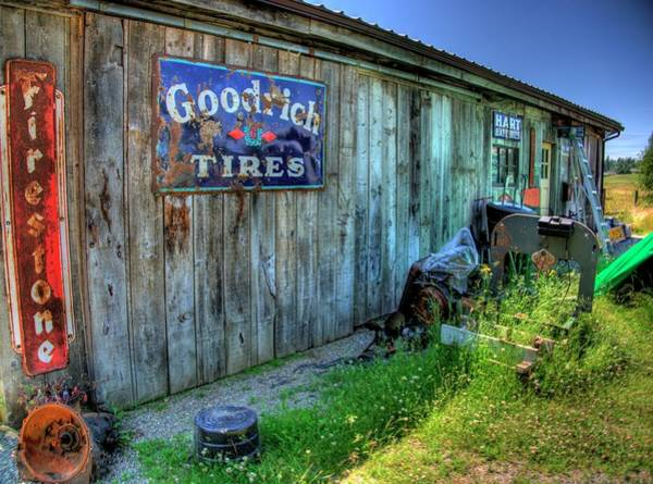 Photograph - Garage by Lawrence Christopher