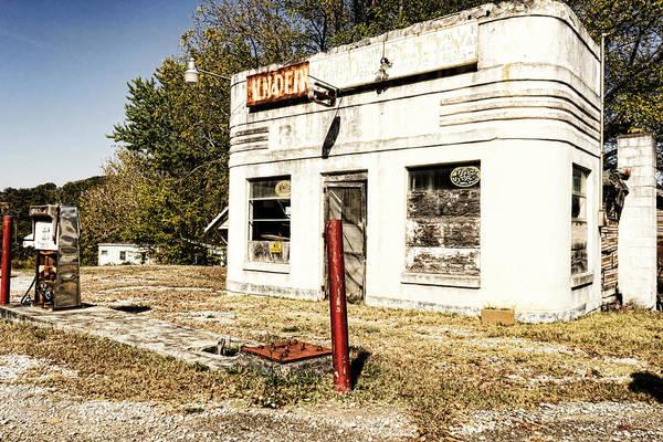 Photograph - Garage Of Yesterday by Sharon Popek
