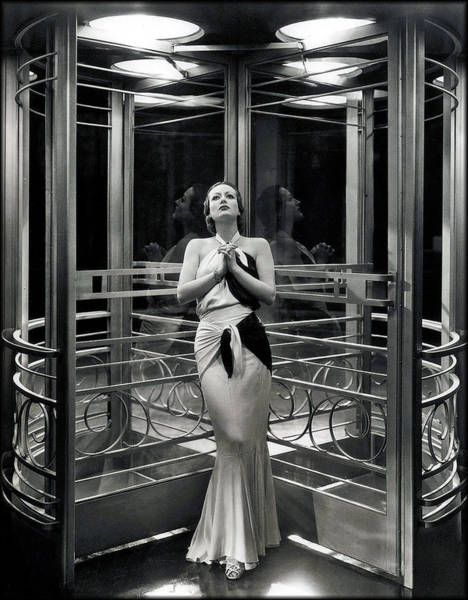 Photograph - Garbo - Grand Hotel by Chuck Staley