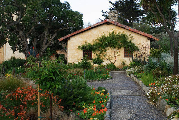Photograph - Garden At Mission San Carmel by Renee Hong