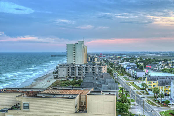 Photograph - Garden City Beach by Mike Covington