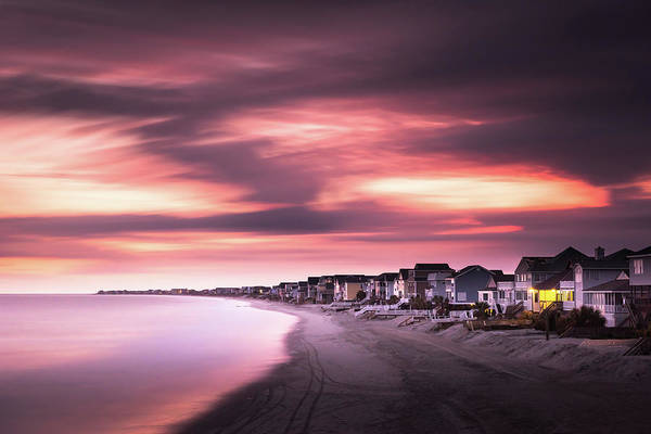 Beach City Photograph - Garden City Sunset by Ivo Kerssemakers