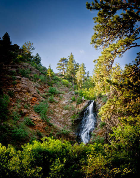 Photograph - Garden Creek Falls Canyon by Rikk Flohr