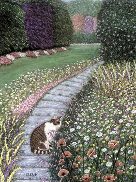 Painting - Garden Delights I by Karen Zuk Rosenblatt