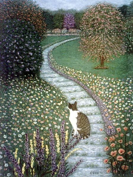Painting - Garden Delights II by Karen Zuk Rosenblatt