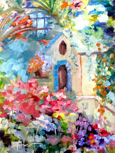 Painting - Garden Door  by Adele Bower