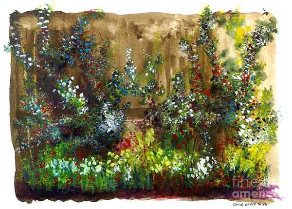 Painting - Garden Fence by David Neace