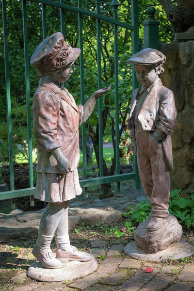 Photograph - Garden Figures by Jim Thompson
