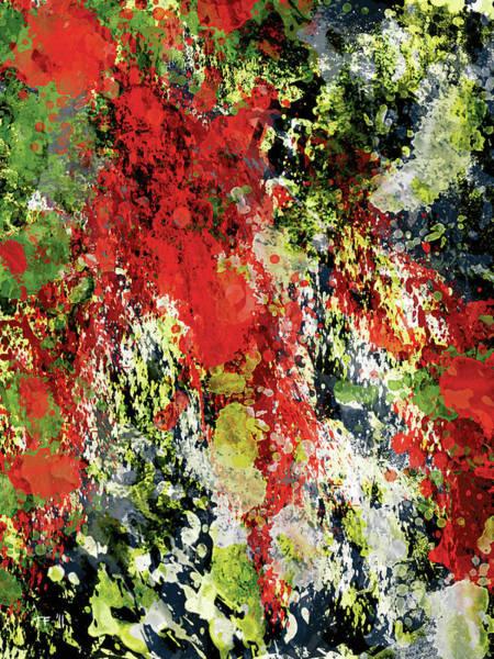 Amarillo Digital Art - Garden In Spring by Timothy Ferguson