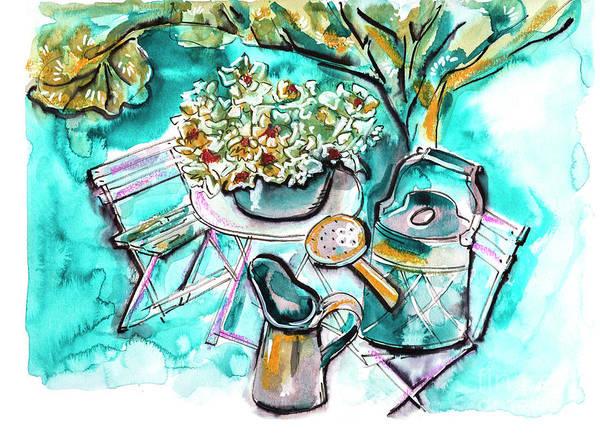 Drawing - Garden Life Illustration by Ariadna De Raadt