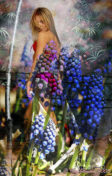 Garden Nymph Art Print