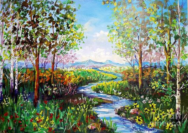 Wall Art - Painting - Garden Of Eden by Lou Ann Bagnall