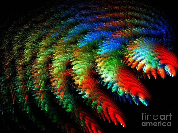 Art Print featuring the digital art Garden Of Miracles by Michal Dunaj