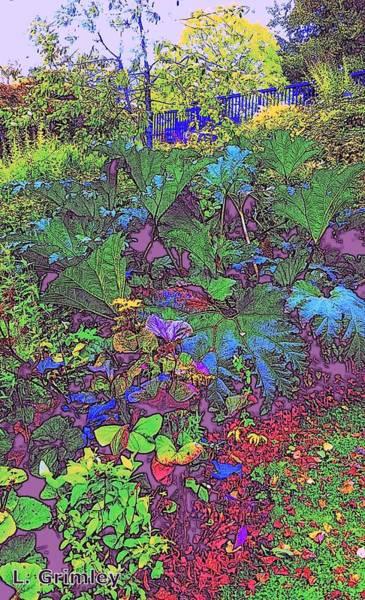 Wall Art - Digital Art - Garden Of Paradise by Lessandra Grimley