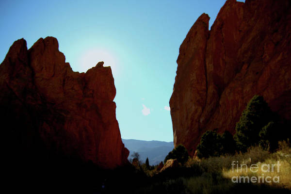 Painting - Garden Of The Gods 5 by Ania M Milo
