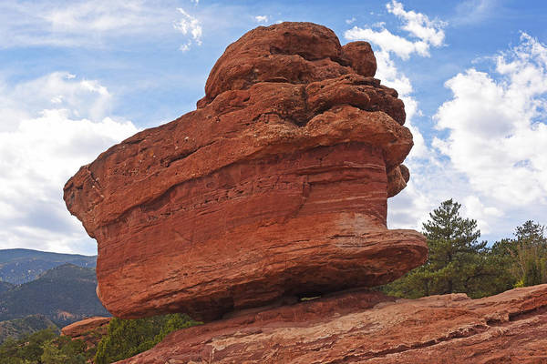 Photograph - Garden Of The Gods Balanced Rock by Toby McGuire
