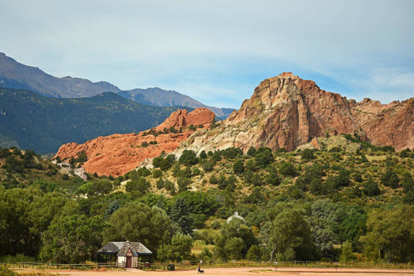 Photograph - Garden Of The Gods Dog Walk Manitou Colorado by Toby McGuire
