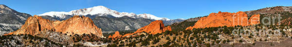Photograph - Garden Of The Gods Extended Panorama by Adam Jewell