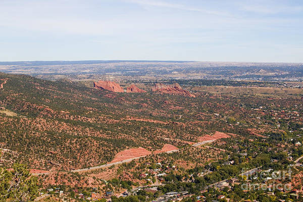 Photograph - Garden Of The Gods From The Red Mountain Trail by Steve Krull