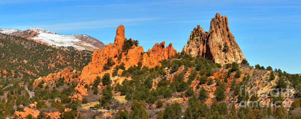 Photograph - Garden Of The Gods High Point Panorama by Adam Jewell