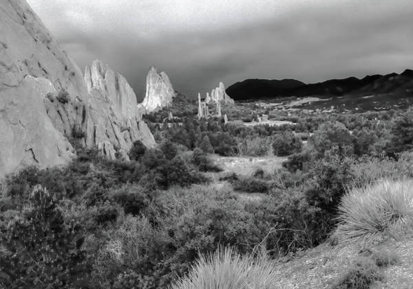 Photograph - Garden Of The Gods Landscape by Rich Ackerman