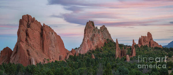 Corral Wall Art - Photograph - Garden Of The Gods Panorama by Michael Ver Sprill