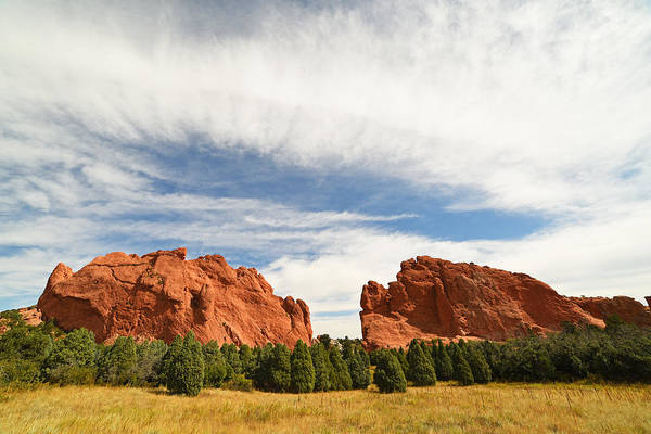 Photograph - Garden Of The Gods Rock Mountains Colorado Springs by Toby McGuire