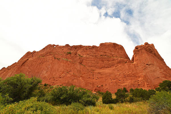 Photograph - Garden Of The Gods Rocky Cloud Smoke Stack by Toby McGuire