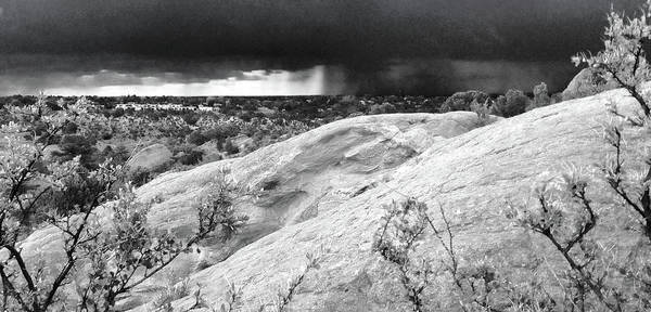 Photograph - Garden Of The Gods Thunderstorm by Rich Ackerman