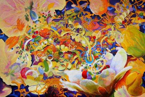 Protein Painting - Garden Party by Georg Douglas