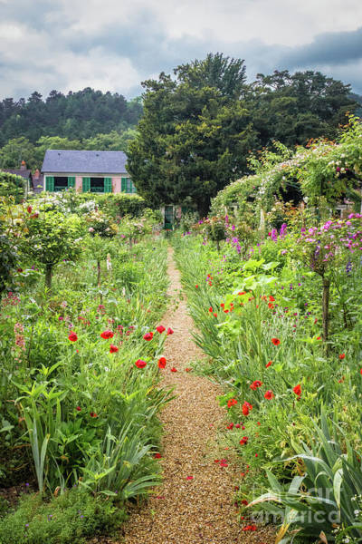 Claude Monet Photograph - Garden Path In Giverny by Liesl Walsh