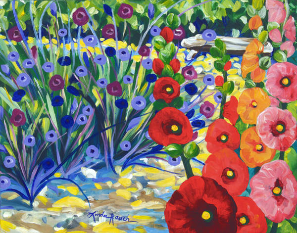 Painting - Garden Path by Linda Rauch