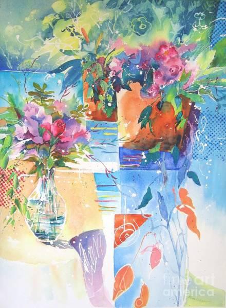 Painting - Garden Pool by John Nussbaum