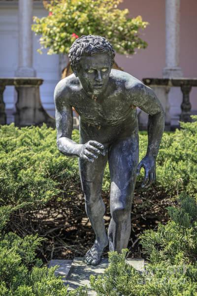 Photograph - Garden Statue Ringling Museum  by Edward Fielding