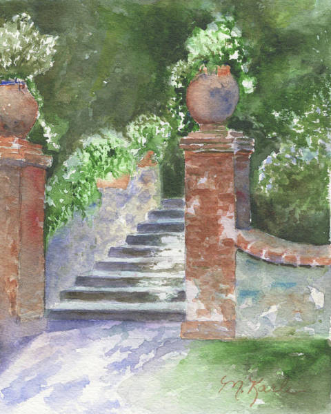 Painting - Garden Steps by Marsha Karle