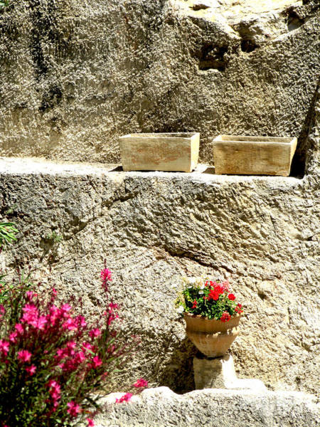 Photograph - Garden Tomb Ossuaries by Donna L Munro