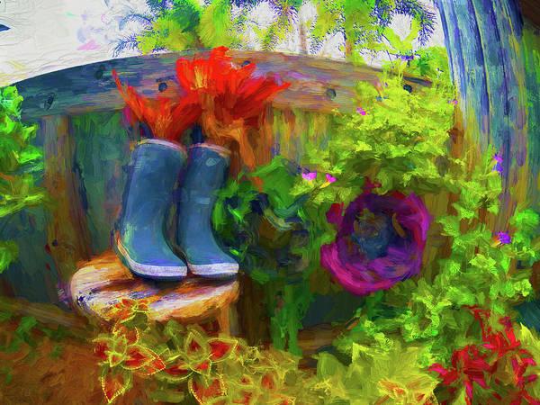Photograph - Garden View Series Gopr1868 by Carlos Diaz