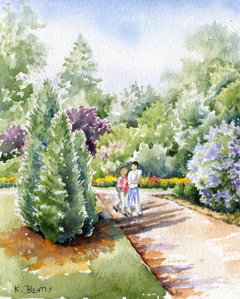 Painting - Garden Walk by Karla Beatty