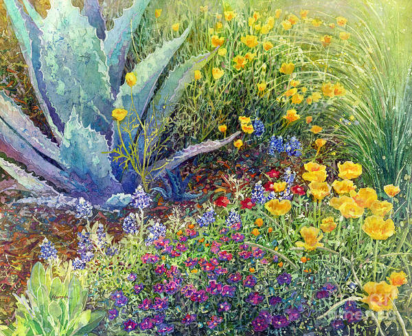 Wall Art - Painting - Gardener's Delight by Hailey E Herrera