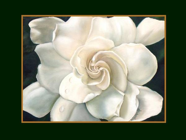 Gardenia Art Print by Darlene Green