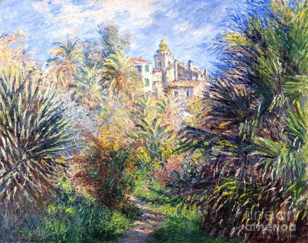 Painting - Gardens Of The Villa Moreno by Celestial Images