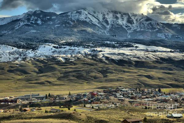 Photograph - Gardiner Montana Overlook by Adam Jewell