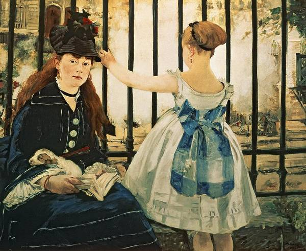 Wall Art - Painting - Gare St Lazare by Edouard Manet