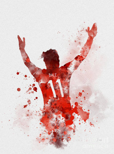 Wales Mixed Media - Gareth Bale by My Inspiration