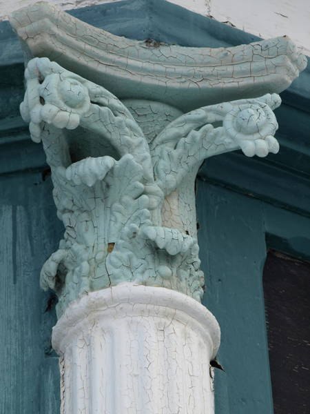 Photograph - Gargoyle Column by Jeffrey Peterson