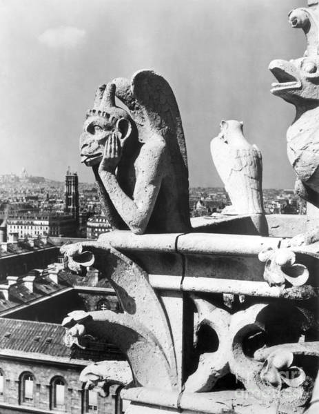 Painting - Gargoyle: Notre Dame by Granger