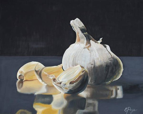 Painting - Garlic I by Emily Page