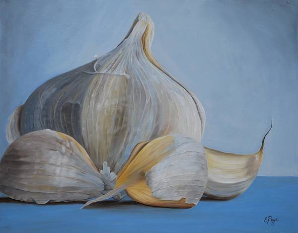 Painting - Garlic IIi by Emily Page